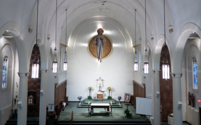 The Church of Christ The King Sudbury present an online celebration of Masses.